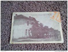 RARE OLD ANTIQUE POSTCARD 1925 Postcard View Of The Main Street Varshetz BULGARIA 50 ST.KINGDOM STAMPS - Bulgaria