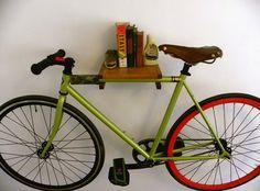 Book Shelf Bike Rack