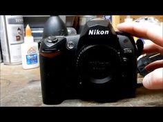 Nikon D70s Repair - YouTube