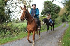 Sahara & Sandy off for a country lane ride. Visit http://coopershilllivery.wix.com/coopers-hill-livery  for more information on horseriding options at Cooper's Hill.