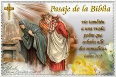 Vidas Santas: Santo Evangelio según san Lucas 21:2