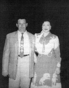 Patsy Cline, with her first husband, Gerald Cline.