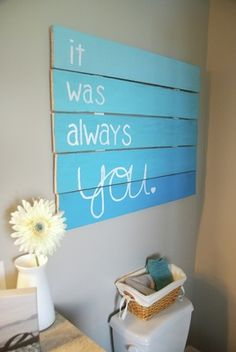 This is so cute, I love this so much! Definitely doing this for the future home with the husband. :)