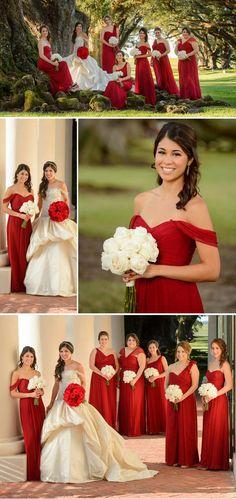 Rotes Kleid zur Hochzeit Bilder: © Eye Wander Photo