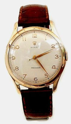 ROLEX 9CT GOLD DRESS WATCH 1959-VINTAGE