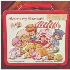 Retro Lunch Boxes, Metal Lunch Box, My Childhood Memories, Sweet Memories, School Memories, Childhood Toys, Vintage Strawberry Shortcake Dolls, Nostalgia, School Lunch Box