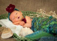 Mermaid Photo Prop / Cocoon - via @Craftsy