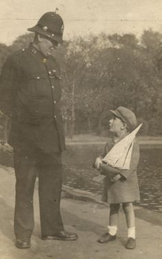 Liverpool Parks Police Constable Fitton, c.1920s from liverpoolparkspolice.co.uk