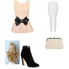Liv and maddie by meganphillips777 on Polyvore featuring polyvore, fashion, style, Topshop and Jimmy Choo