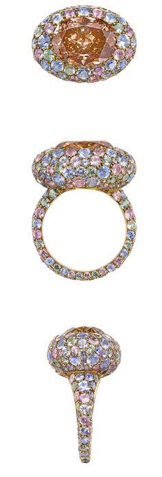 Diamond Ricci Pastel Ring | Sotheby's Diamonds