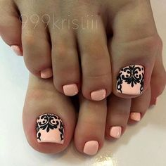 pedicure oslo 5 best photos – Beauty & Seem Beautiful Pedicure Designs, Pedicure Nail Art, Toe Nail Designs, Nail Manicure, Pretty Toe Nails, Cute Toe Nails, Love Nails, Feet Nails, Creative Nails