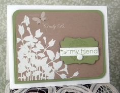 Silhouettes by cindybstampin - Cards and Paper Crafts at Splitcoaststampers