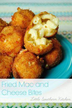 Fried Mac and Cheese Bites
