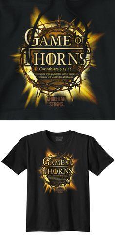 Game of Thorns Thrones GOT Christian T Shirt Jesus Cross Novelty T-Shirt Tee Print T Shirt Summer Style Top Tee