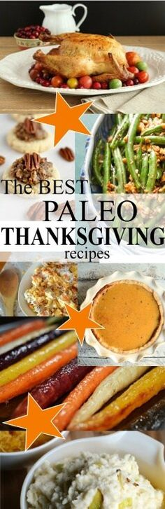 The Best PALEO Thanksgiving Recipes - gluten-free, dairy-free, whole30