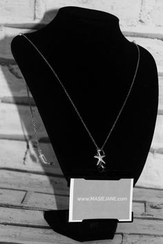 Want my work pass on this Necklace Lanyard by Masie Jane - Starfish charm