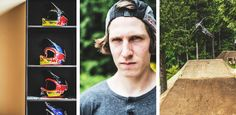 Coming off the production his movie the talent has been training hard on his private slopestyle course. He ll be gunning for the gold at all the Diamond FMB World Tour stops as he looks to take the overall. It all starts this weekend in France for Crankworx Les 2 Alpes.