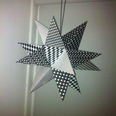 Design by Dalkær: 13. DEC: Kæmpe stjerne med 20 spidser