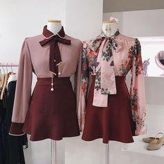 Kawaii Fashion, Cute Fashion, Look Fashion, Fashion Design, Fashion Styles, Classy Outfits, Chic Outfits, Pretty Outfits, Korean Fashion Trends