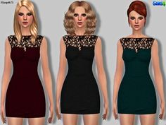 Margeh-75's Sims 4 Sandro Pearl & Lace