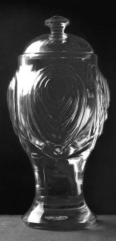 Oskar Strnad, Entwerfer  Datierung:vor 1919 Sachbegriff:Pokal Form:DeckelpokalGattung:Glaskunst Material/Technik:Glas Form, Designer, Glass Art, Vase, Dating, Material, Home Decor, Quotes