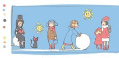 Manga Anime, Anime Art, Nichijou, Ordinary Lives, Awesome Anime, Life Humor, Great Artists, Art Inspo, Cool Pictures