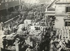 Covent Garden was once the biggest fruit and vegetable market in the world.