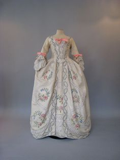 Recreation of Marie Antoinette's gowns. By Atelier Caraco Canezou for an exhibition in Japan.