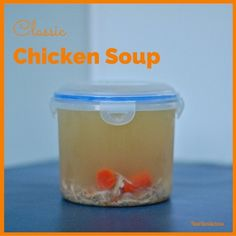 A family favorite, traditional chicken soup is soothing and delicious. Perfect to start any Jewish holiday meal or to cure a cold. Gluten-free, dairy-free, egg-free. @jlevinsonrd