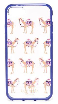 Kate Spade New York Camel March iPhone 7 Case | SHOPBOP