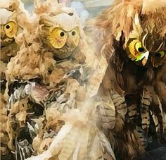 BELLA DONNA digital art - Masken