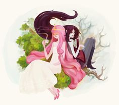 Princess PB and Marceline
