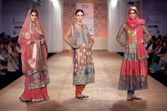 Pink Lenghas and Chudidar Suits