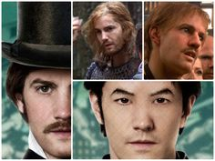 jimsturgess_cloudatlas.........Jim Sturgess  I have just five words for you: Asian Jim Sturgess is scary. All characters played: Adam Ewing / Poor Hotel Guest / Megan's Dad / Highlander /Hae-Joo Chang / Adam / Zachry Brother-in-Law.