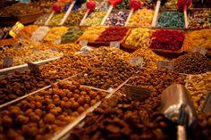 A must-see in Barcelona - The Market on La Rambla.