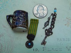 Antique accessories for French fashion man doll. Now available in my Ruby Lane store: Kim's Doll Gems