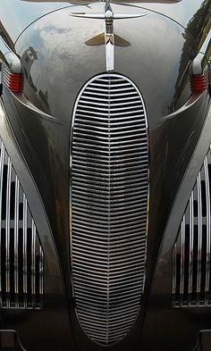 1938 Lincoln K-12 Convertible Sedan