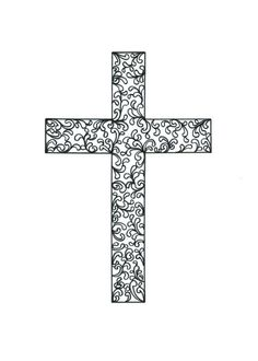 Items similar to Easter Cross/Cruxifix - 4 x 6 Zentangle Print of Original Abstract Illustration on Etsy Quilling Patterns, Quilling Ideas, Tangle Art, Easter Cross, Happy Words, Pattern Drawing, Bible Art, Graphic Patterns, Free Prints