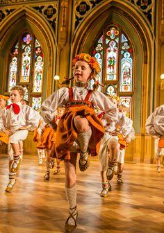 Fantastic young Latvian dancers.
