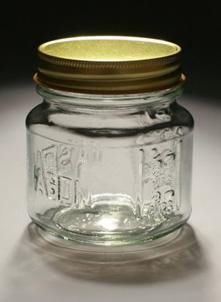 jarstore.com low prices on glass jars  8 oz Square Mason Jar With Choice of Lid