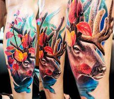 Dear tattoo by Vasilii Suvorov