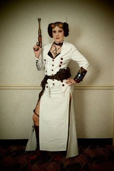 8 Steampunk Star Wars Cosplays! Steampunk Leia!