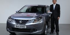 New 2015 #Suzuki #Baleno (YRA) Makes World Debut at #Frankfurt http://www.carblogindia.com/maruti-yra-hatchback-lighter-spacious-swift-reveals-march-2015/