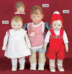Kathe Kruse - Du Mein and Doll 1
