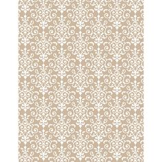 lovely kraft and white flourish wrapping paper from paper source