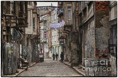 Back Street in Istanbul. To view and purchase more of my photographic artwork, please visit my website at joan-carroll.artistwebsites.com. Thank you!