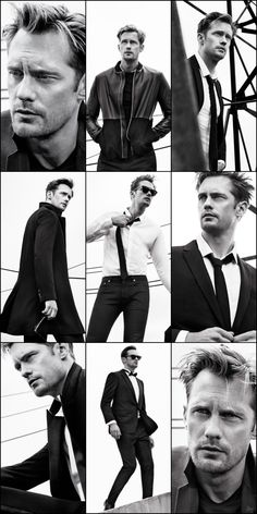 Alexander Skarsgård for Dior magazine, Winter issue #17 - photographed by Nathaniel Goldberg, styled by Elin Svahn.