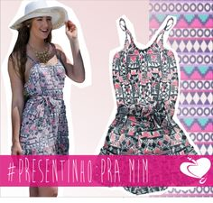 #Presentinho Pra mim: vestinho #étnico! Ideal pra esse verão ;D  #VempraCodigo #CodigoGirls