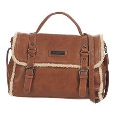Handtasche David Jones JESS Braun - Kostenloser Versand ! - Taschen Damen 39,99 €