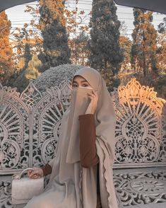 Islamic Fashion, Muslim Fashion, Hijab Fashion, Fashion Outfits, Dark Green Long Dress, Hijab Niqab, Beautiful Muslim Women, Muslim Dress, Cute Korean Girl